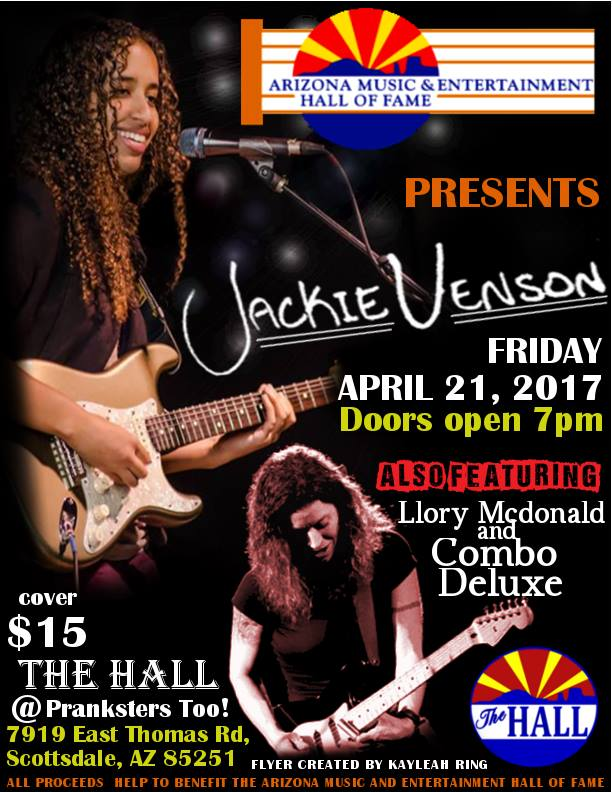 Jackie Venson also featuring Llory McDonald & Combo Deluxe