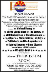 2009 Fundraiser Rhythm Room